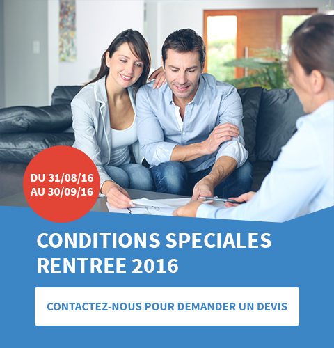 Conditions rentrée 2016